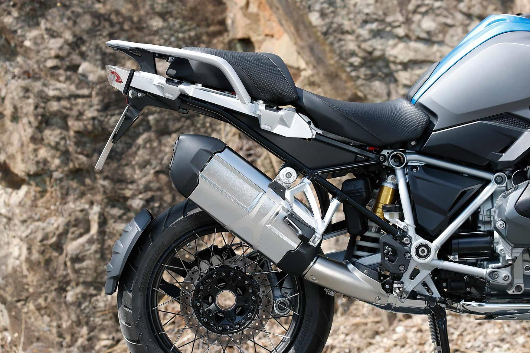 Bmw R1250gs 2019 On Review Mcn R1200c Fuse Box The Rear End Of New Retains Similar Traits To Outgoing R1200gs