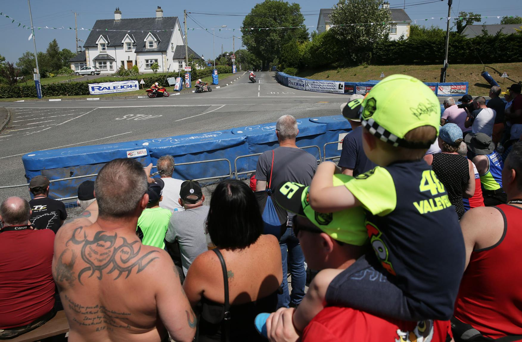 The crowds are crucial to the success of road race meetings