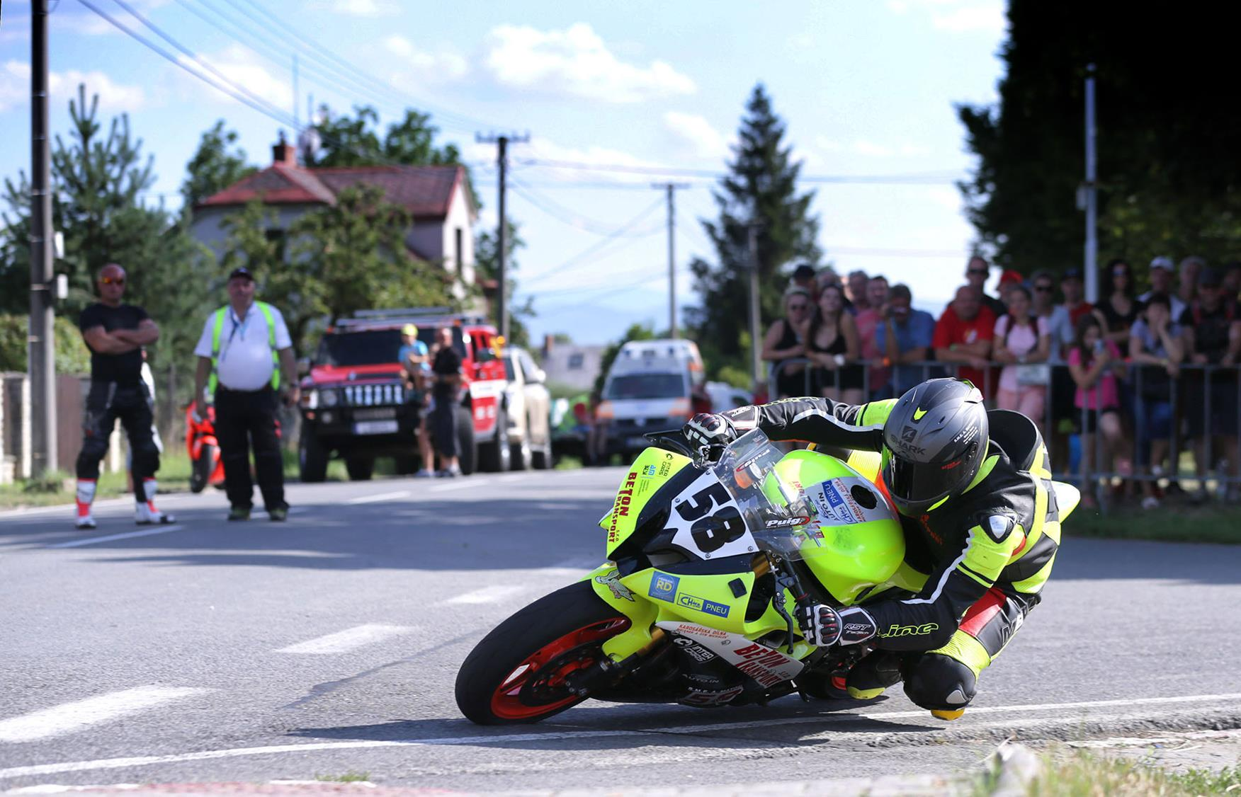 Kerbs and street furniture keep road racing exciting, but also dangerous