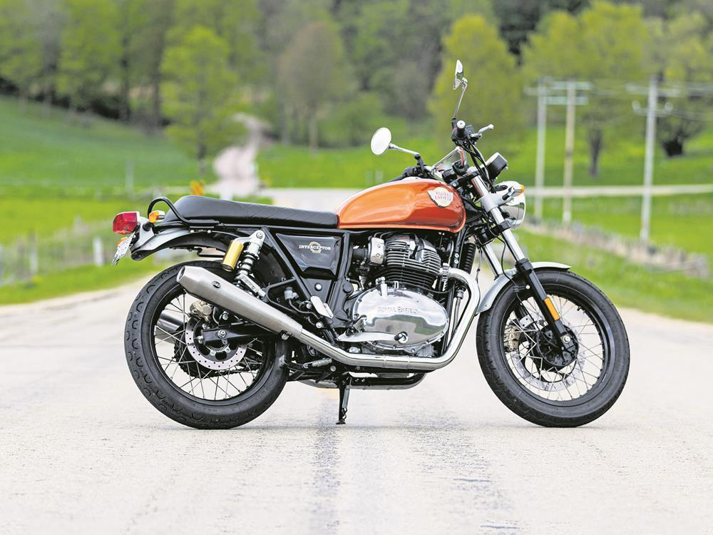 Royal Enfield Interceptor 650 with S&S modifications