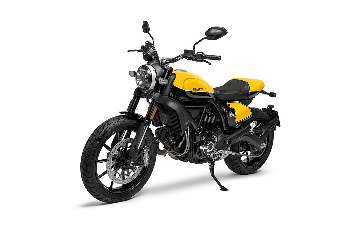 The Full Throttle gets a new two-tone yellow and black paintjob in homage to the American Super Hooligan racer Frankie Garcia