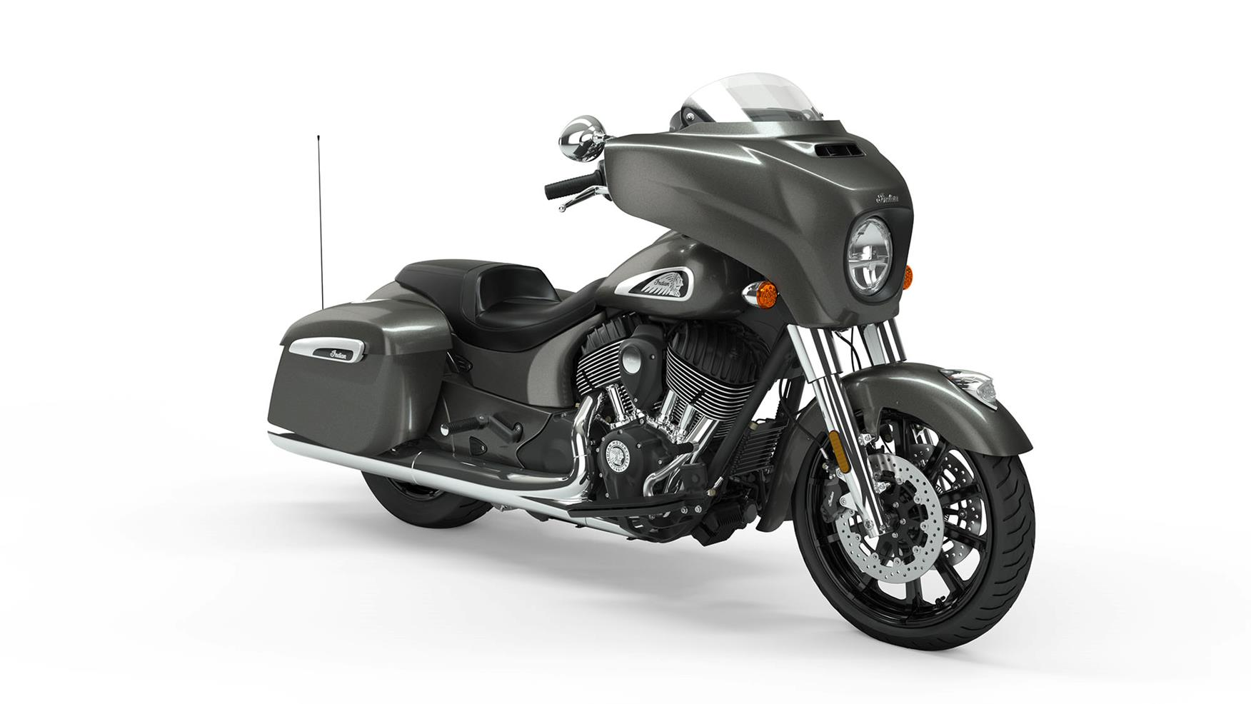 2019 Indian Chieftain in Steel Gray