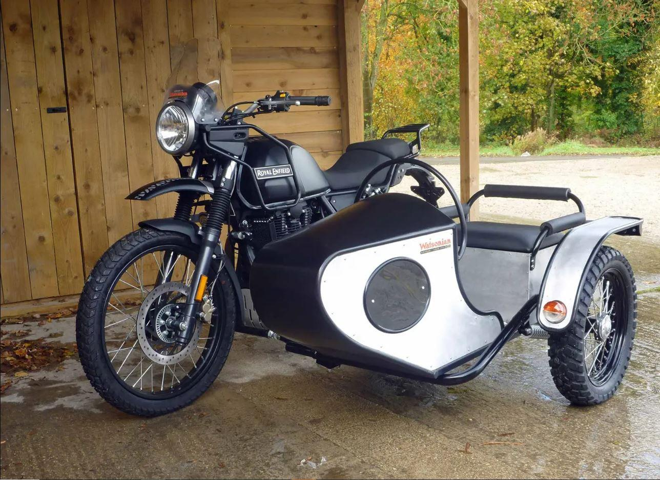 Royal Enfield Himalayan with Watsonian Squire sidecar
