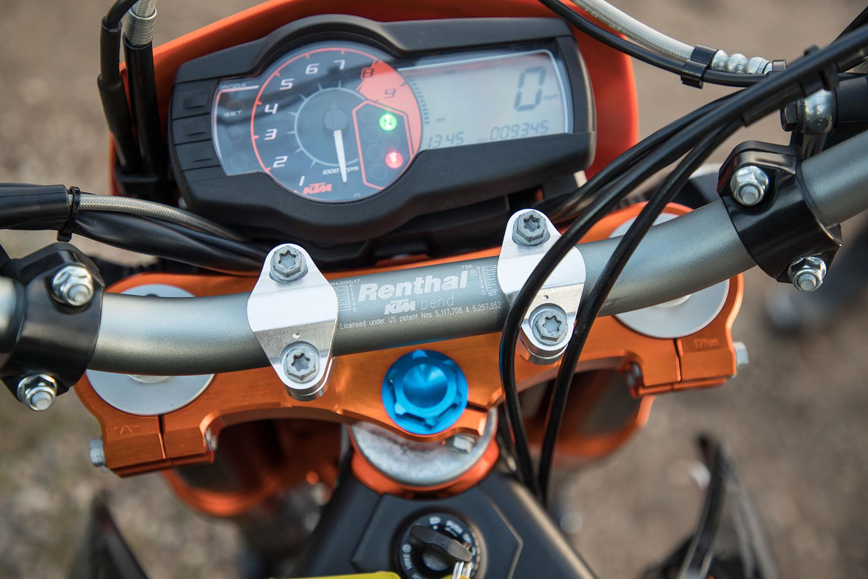 KTM 690 SMC R yoke set costs £400