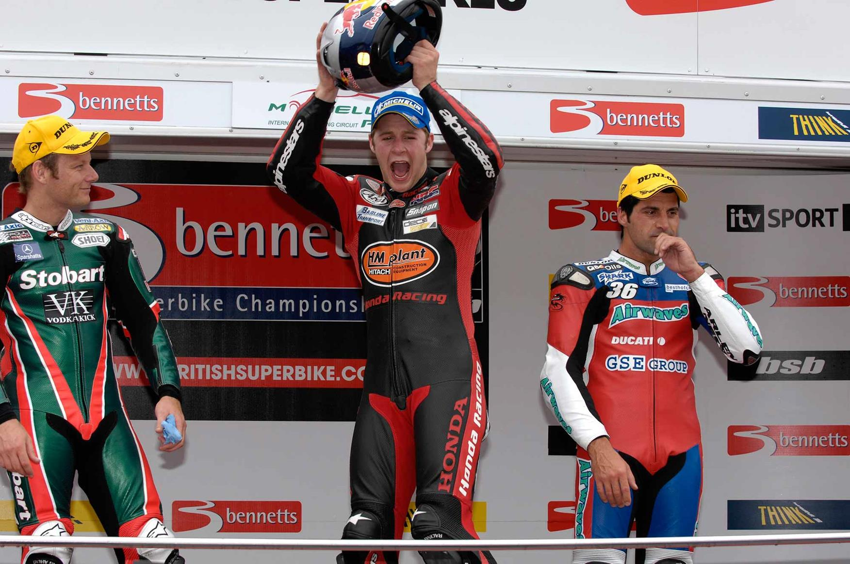 Rea wins at Mondello Park in 2007