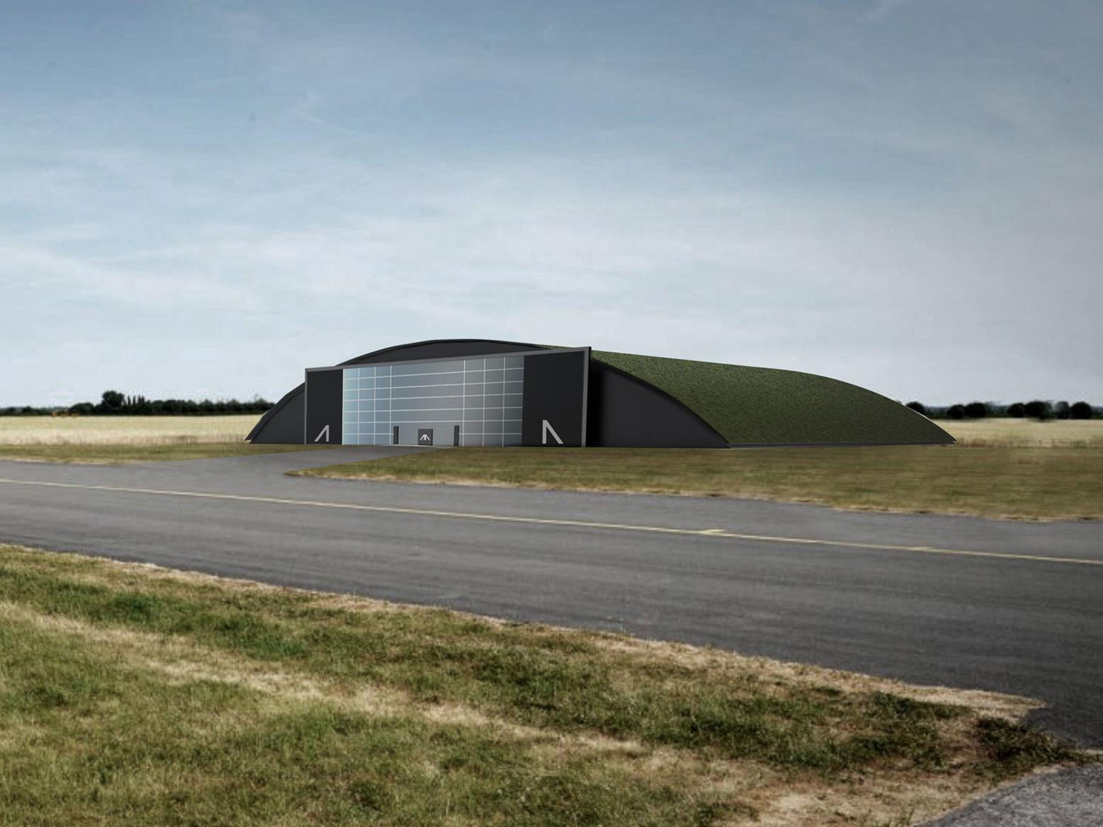 Artist's impression of the Arc hanger