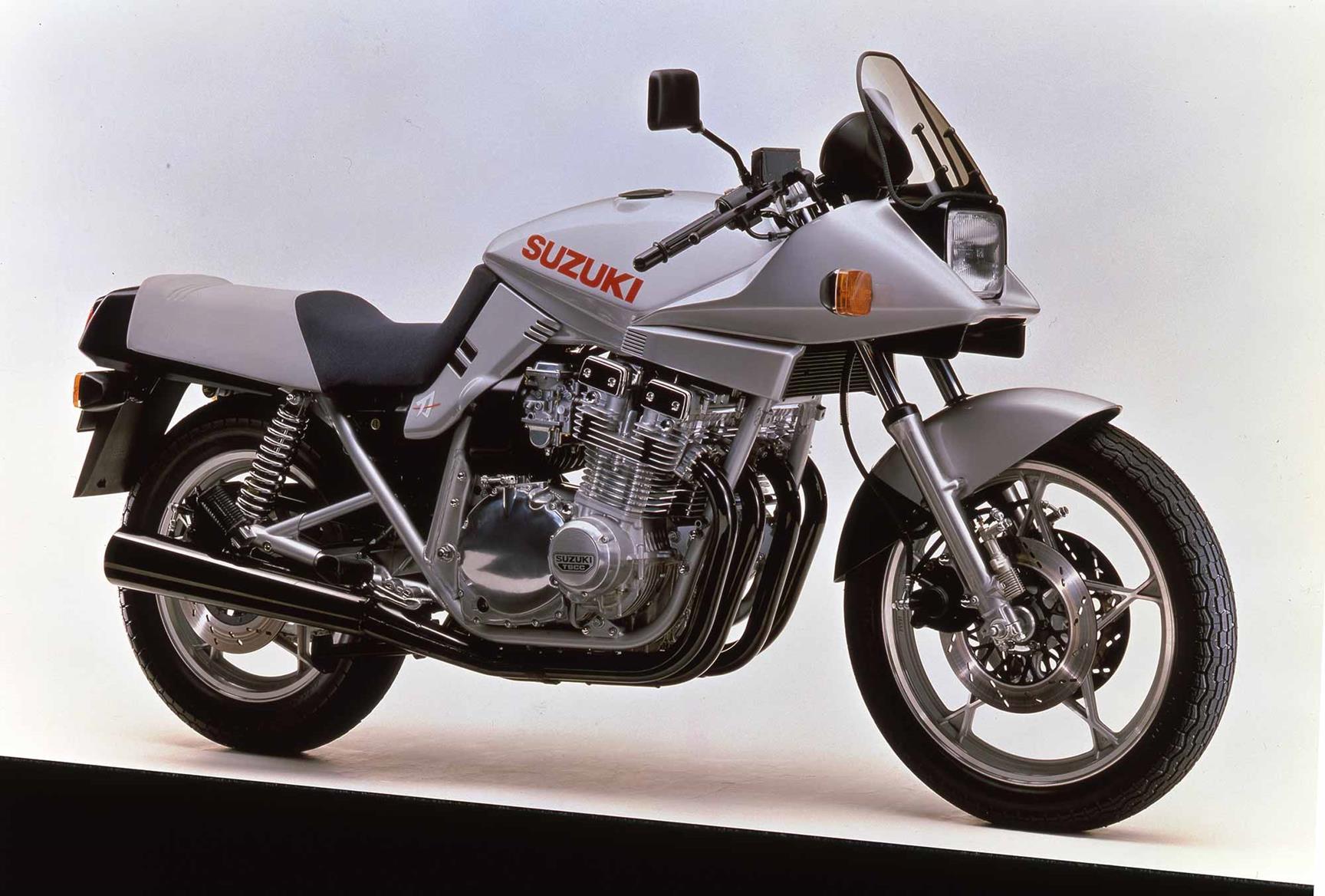 A 1981 Suzuki GSX1100S Katana