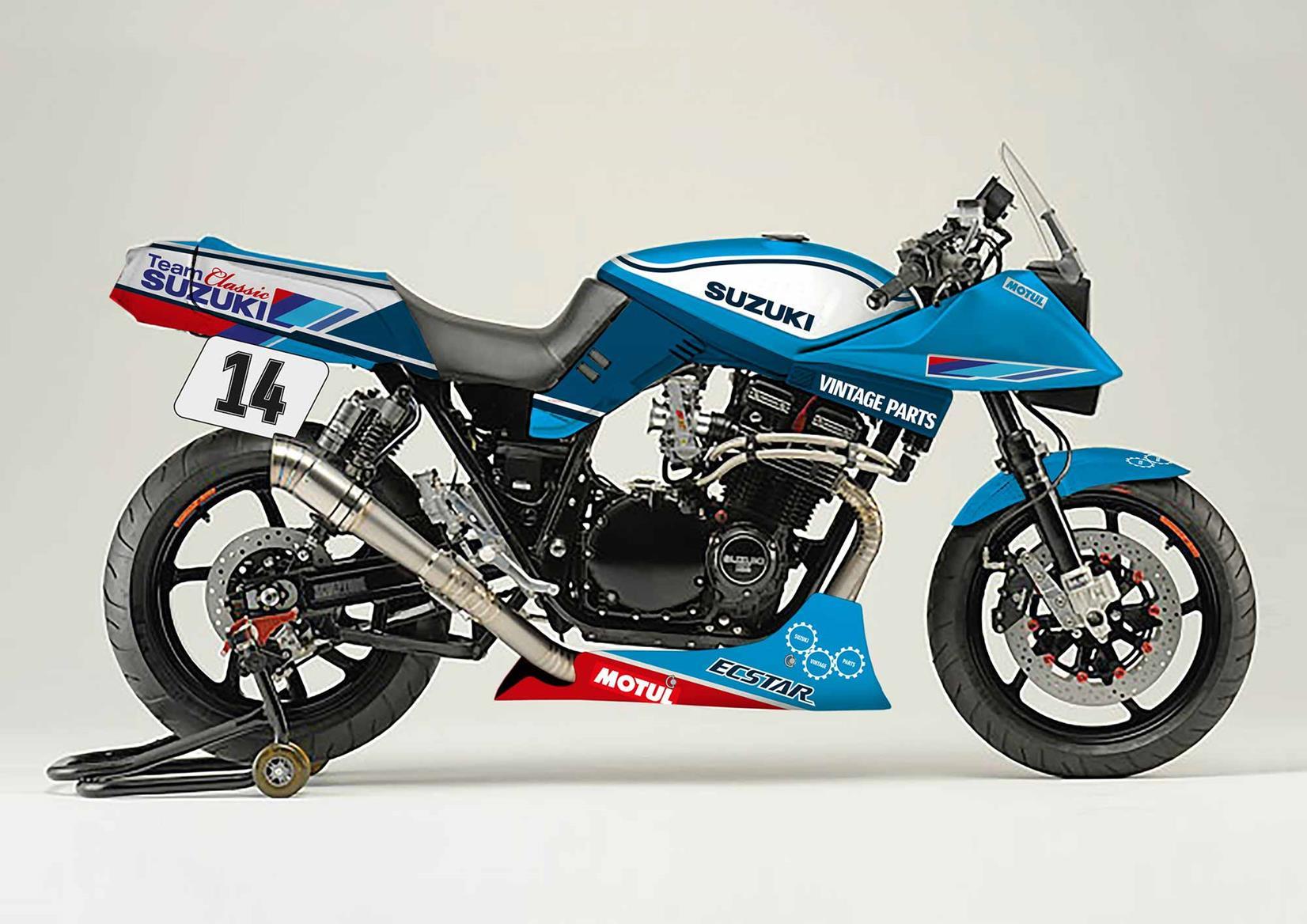 The Team Classic Suzuki Katana