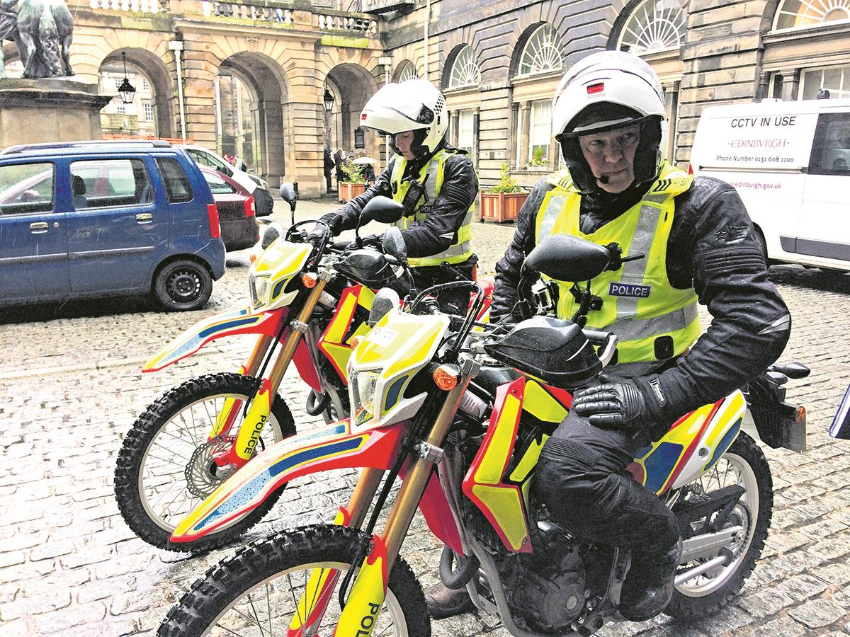 Police have extra dirt bikes to help tackle the