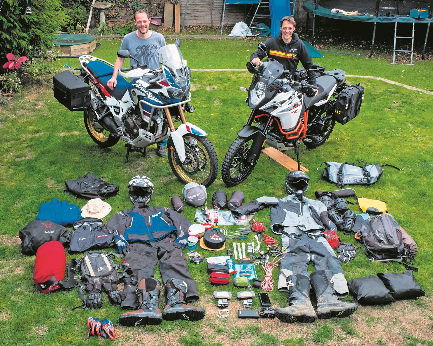 Preparation is key for seven days off road