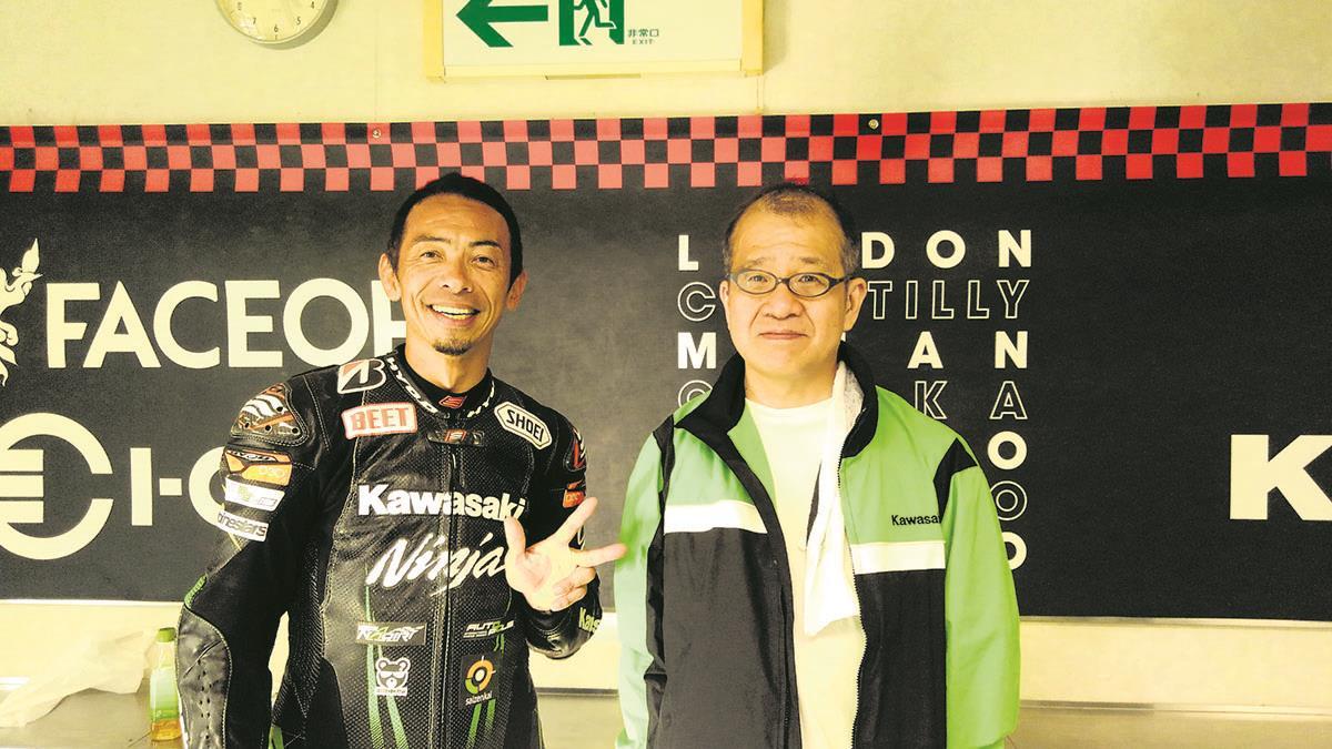 Kazuo with the great Akira Yanagawa