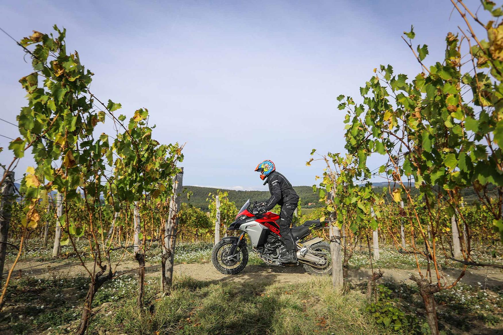 The Enduro is capable both on and off-road