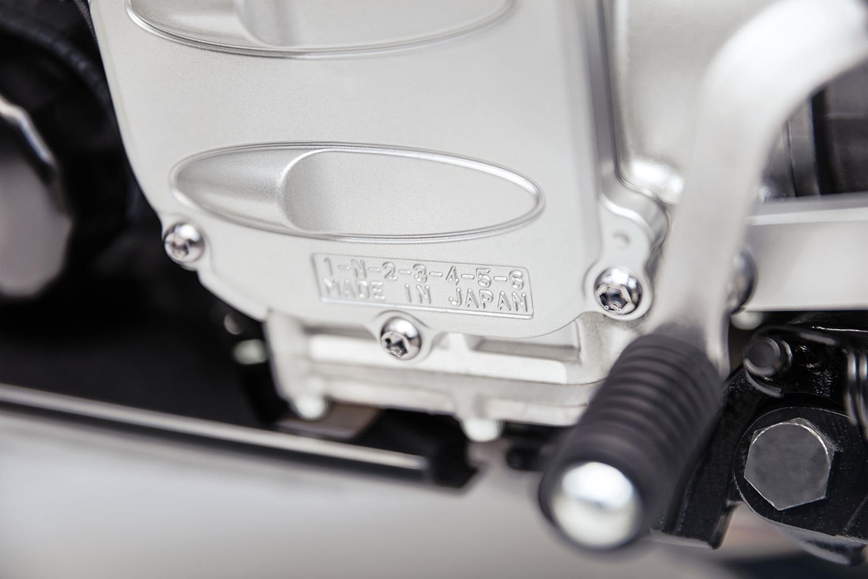 Yamaha FJR1300 has six gears from 2016
