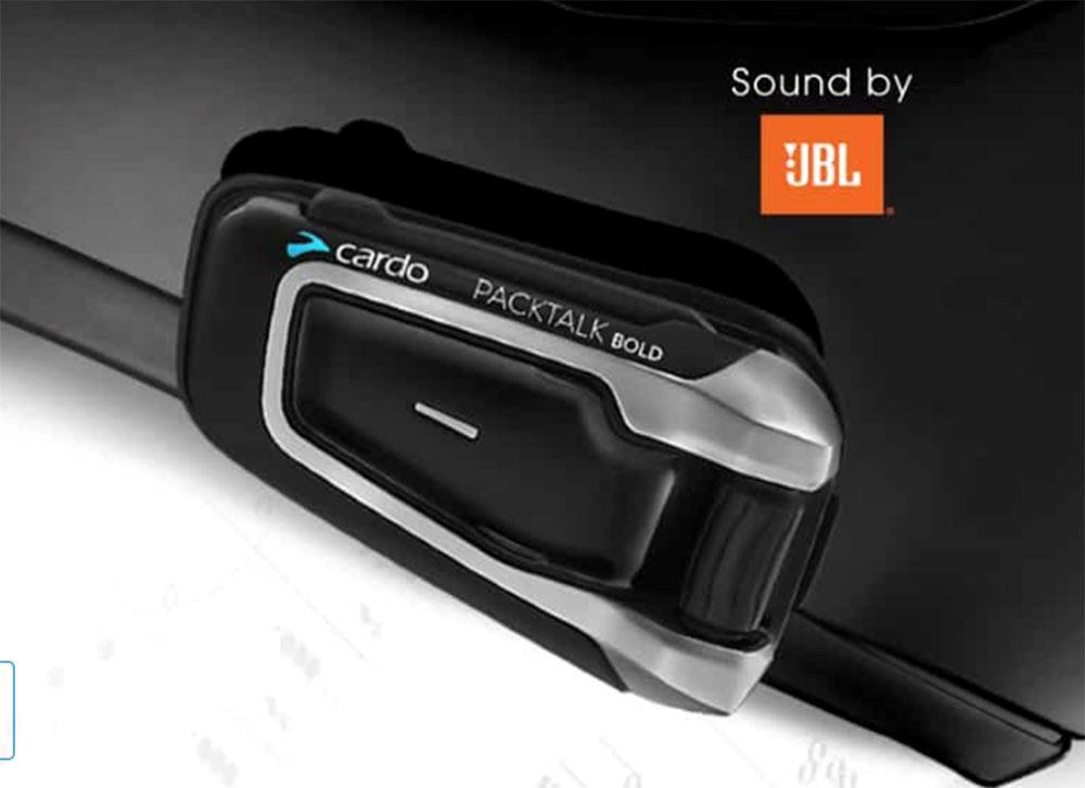 Cardo system will use JBL speakers in 2019