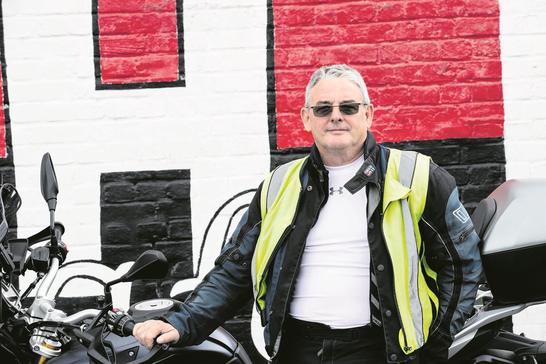 Nigel Robinson: 'It embodies what motorcycling is all about'