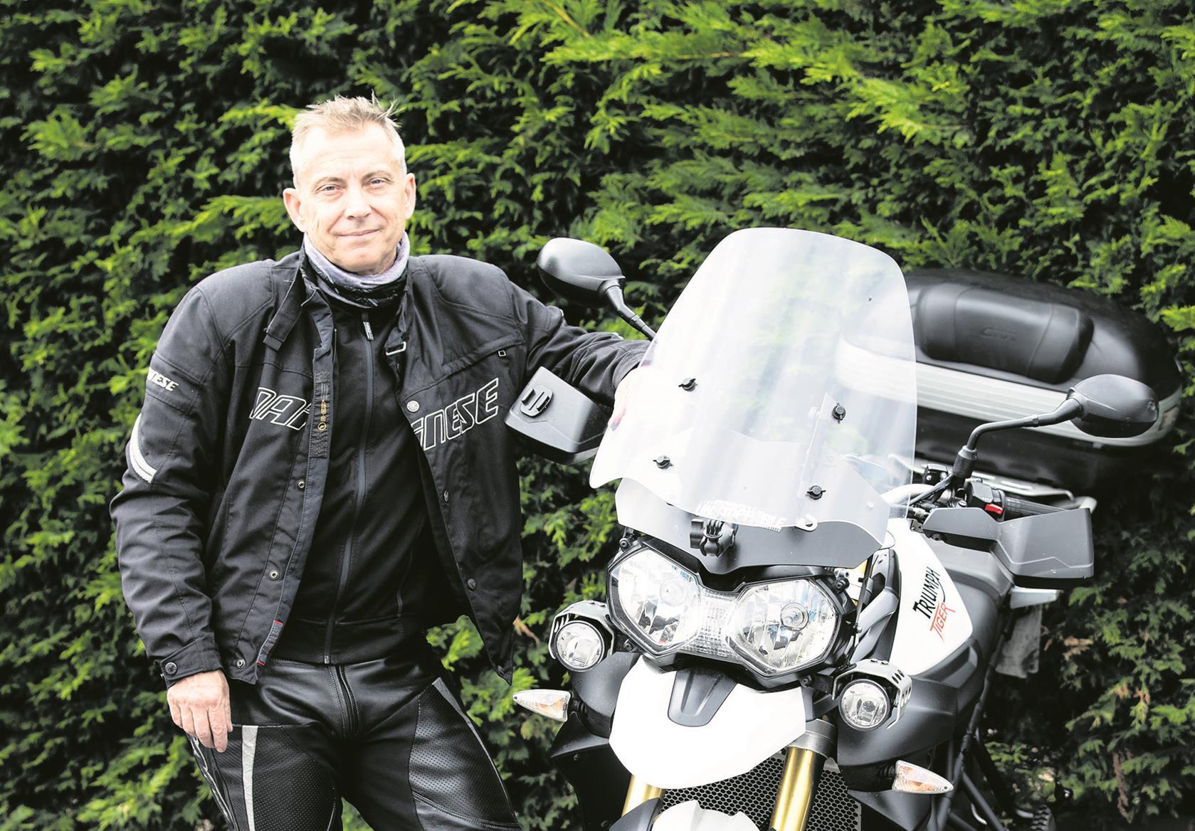 Mark Bayford: 'It's a great social scene'