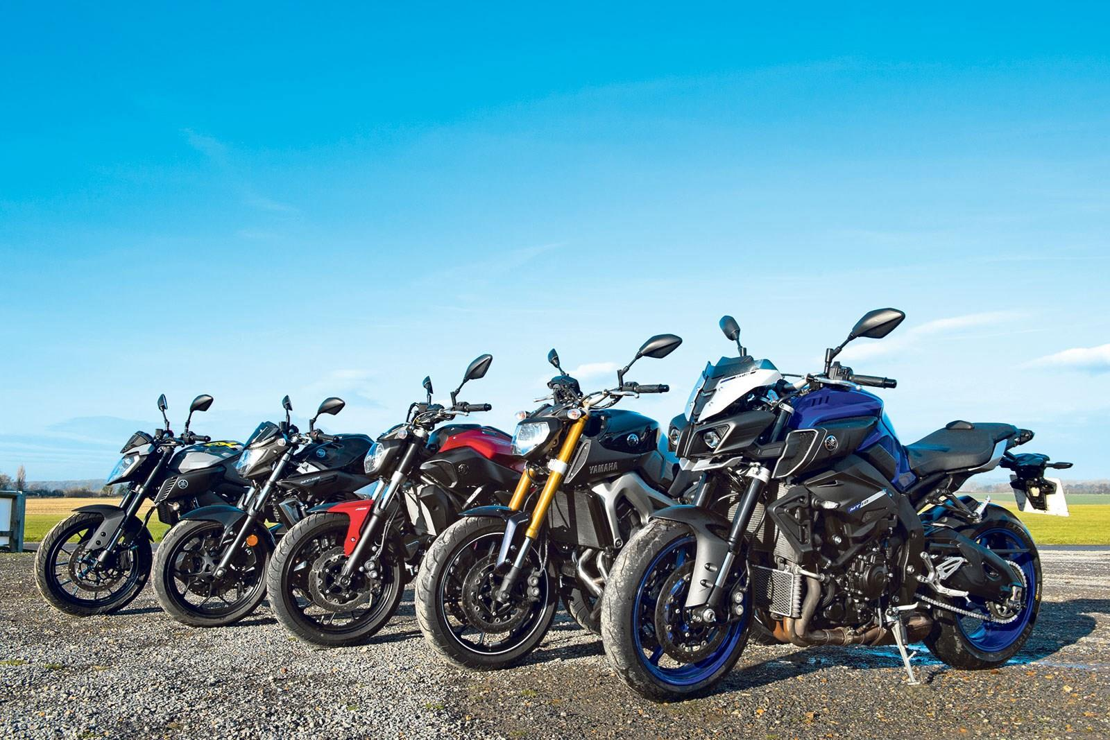 The Yamaha MT range
