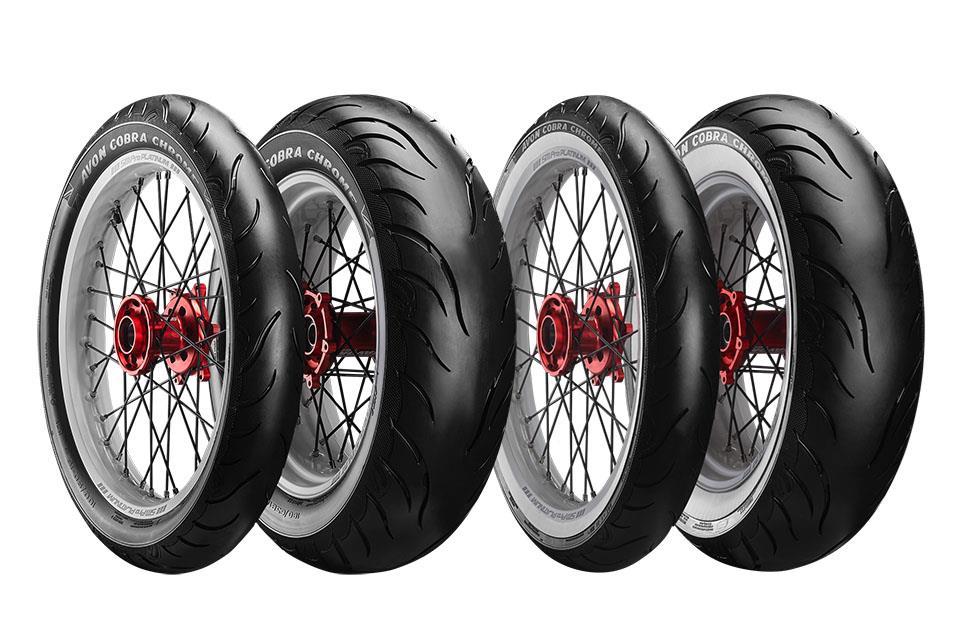 Avon Cobra Chrome tyres