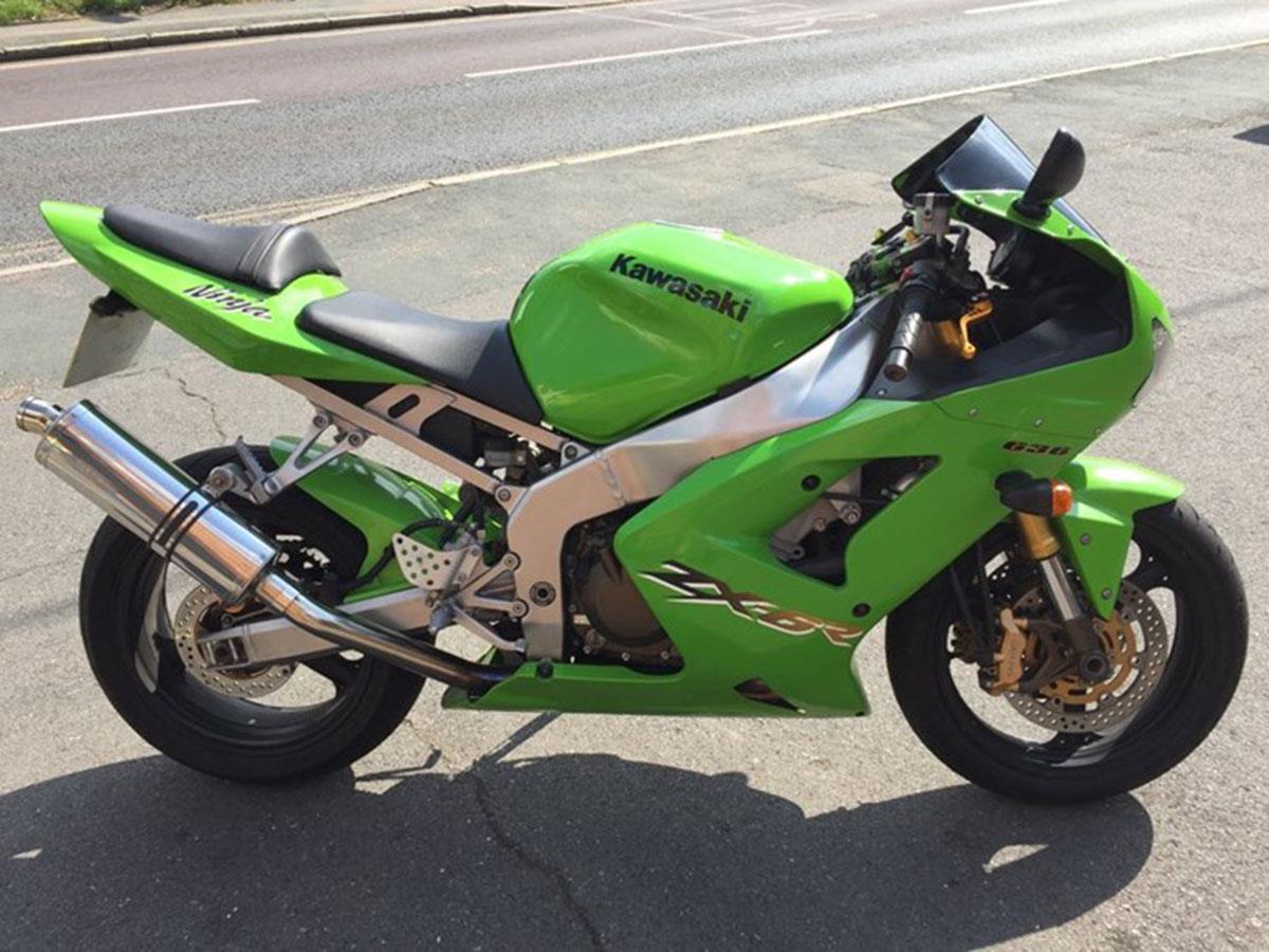 2003 Kawasaki ZX-6R