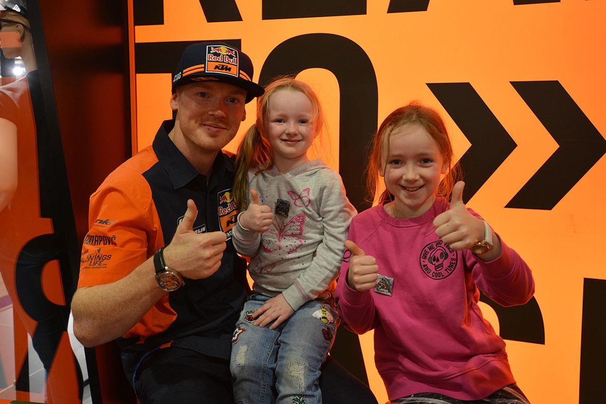 Meet the racers at Motorcycle Live