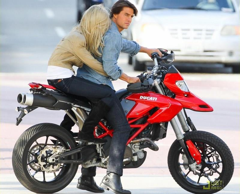 Some scenes in Knight and Day used an Aprilia disguised as a Ducati