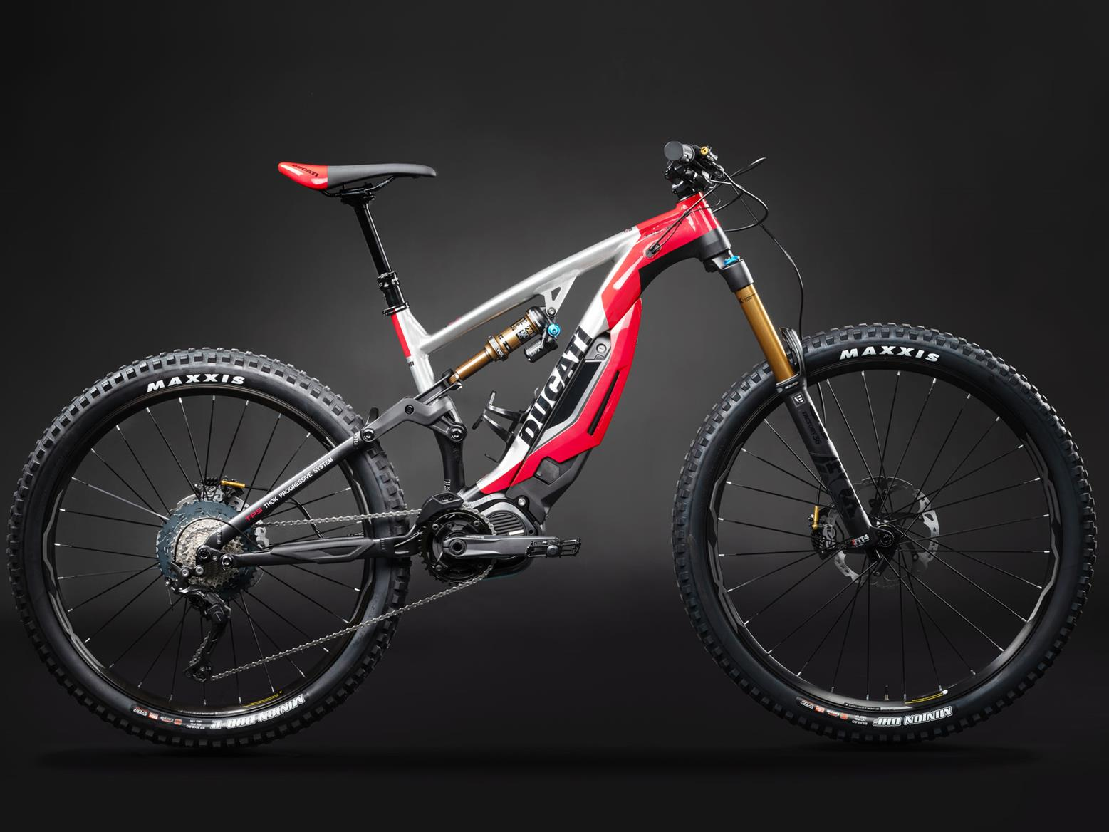 Ducati MIG-RR e-MTB electric mountain bike studio image