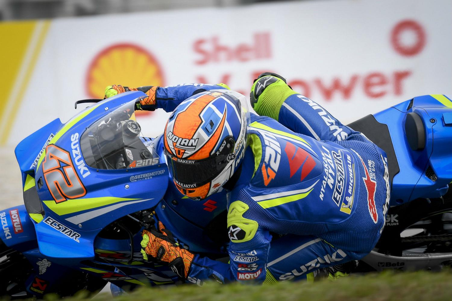 Marquez wins Malaysian MotoGP as Rossi crashes out of lead