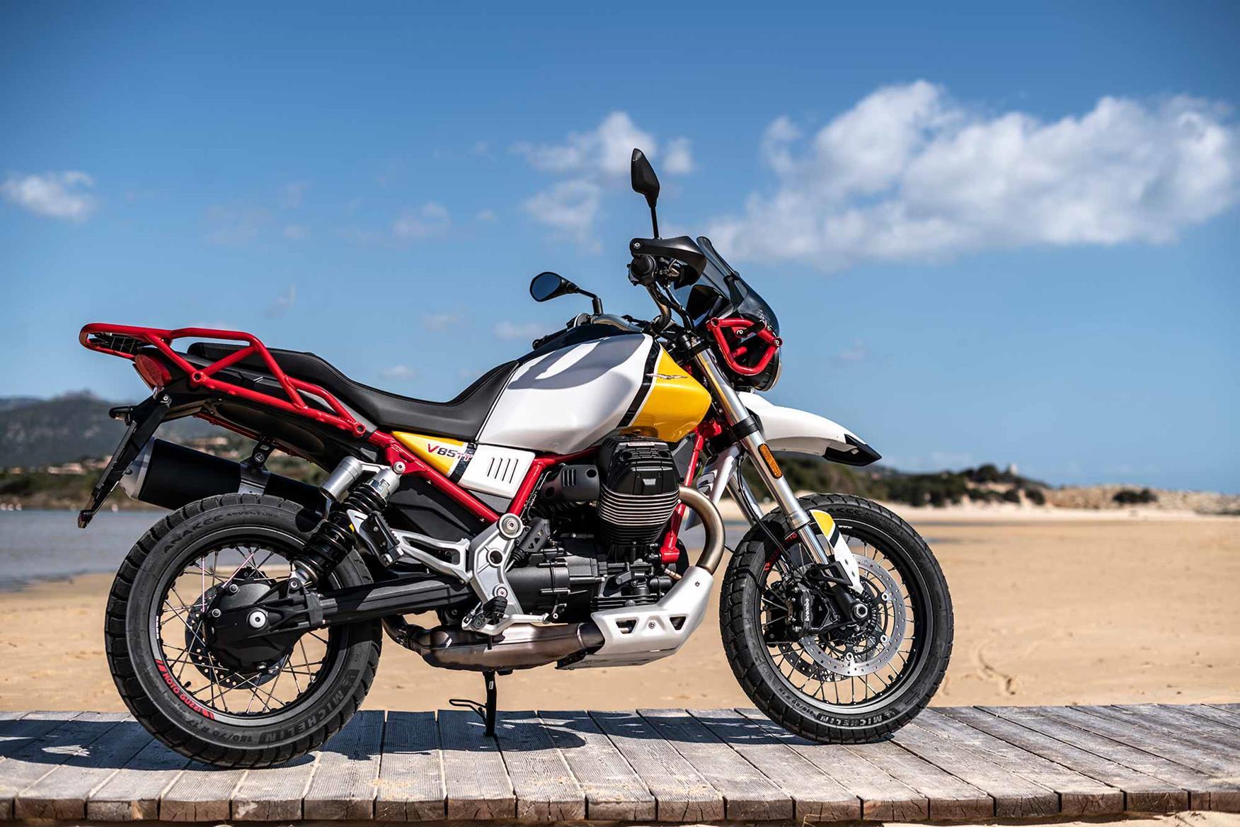 Moto Guzzi V85TT static