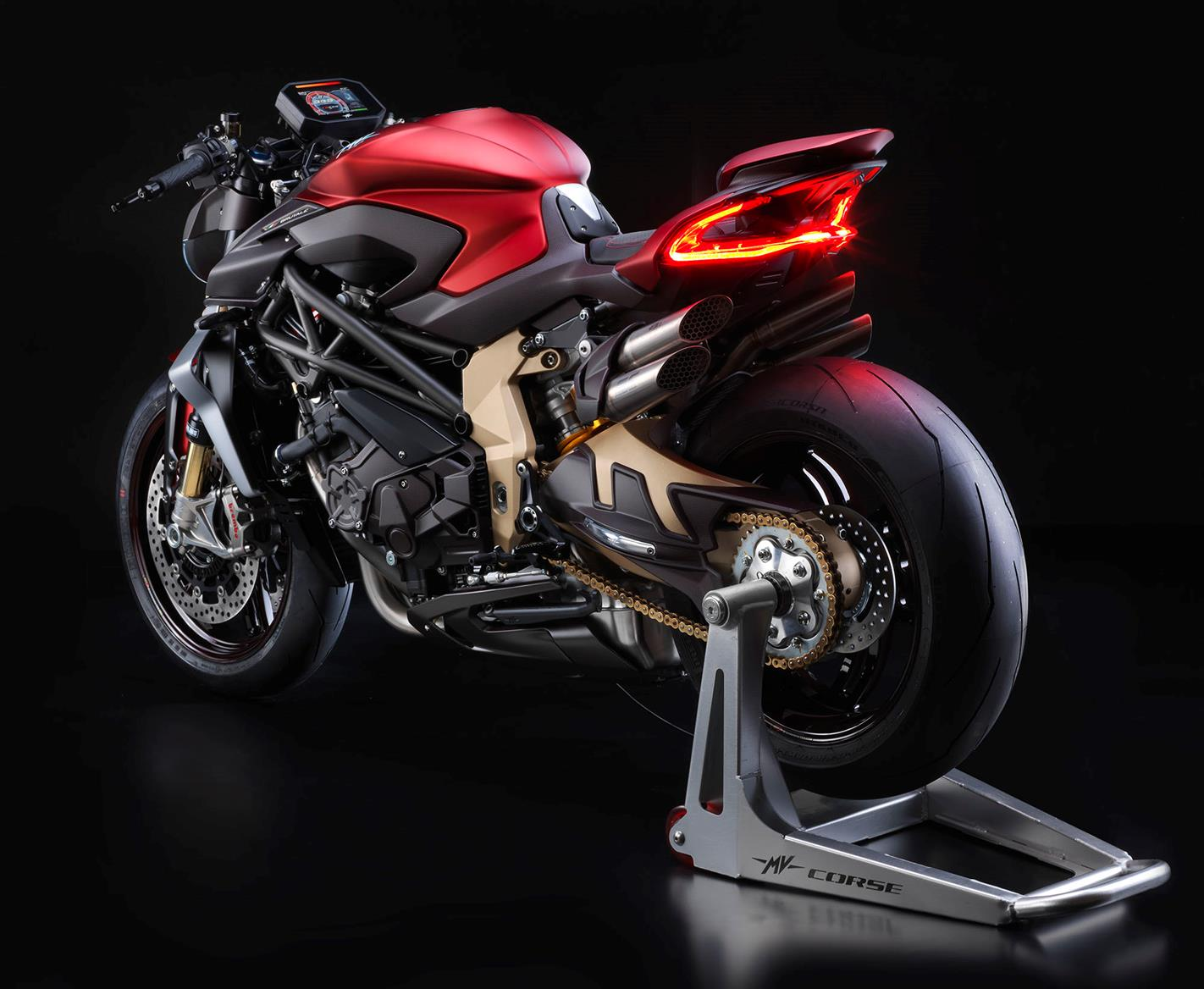 mv agusta brutale 1000 serie oro 2019 on review. Black Bedroom Furniture Sets. Home Design Ideas
