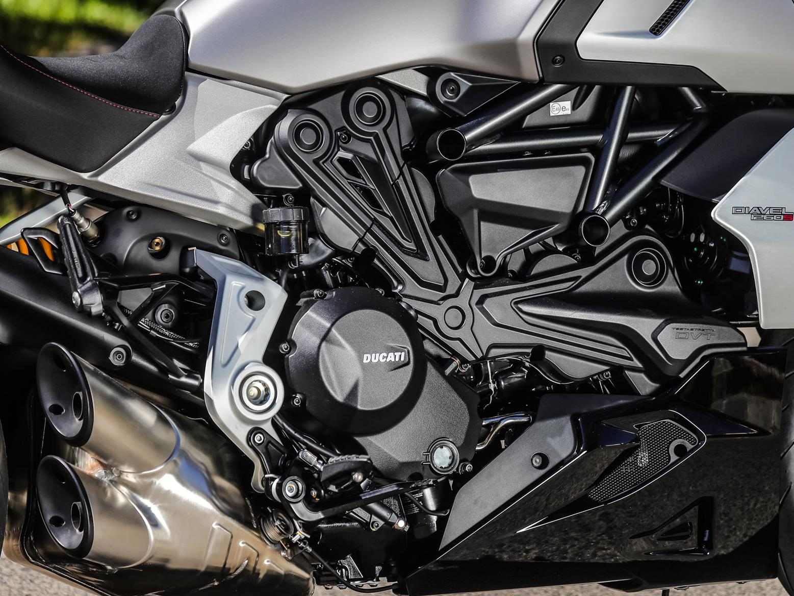 The Ducati Diavel 1260 motor
