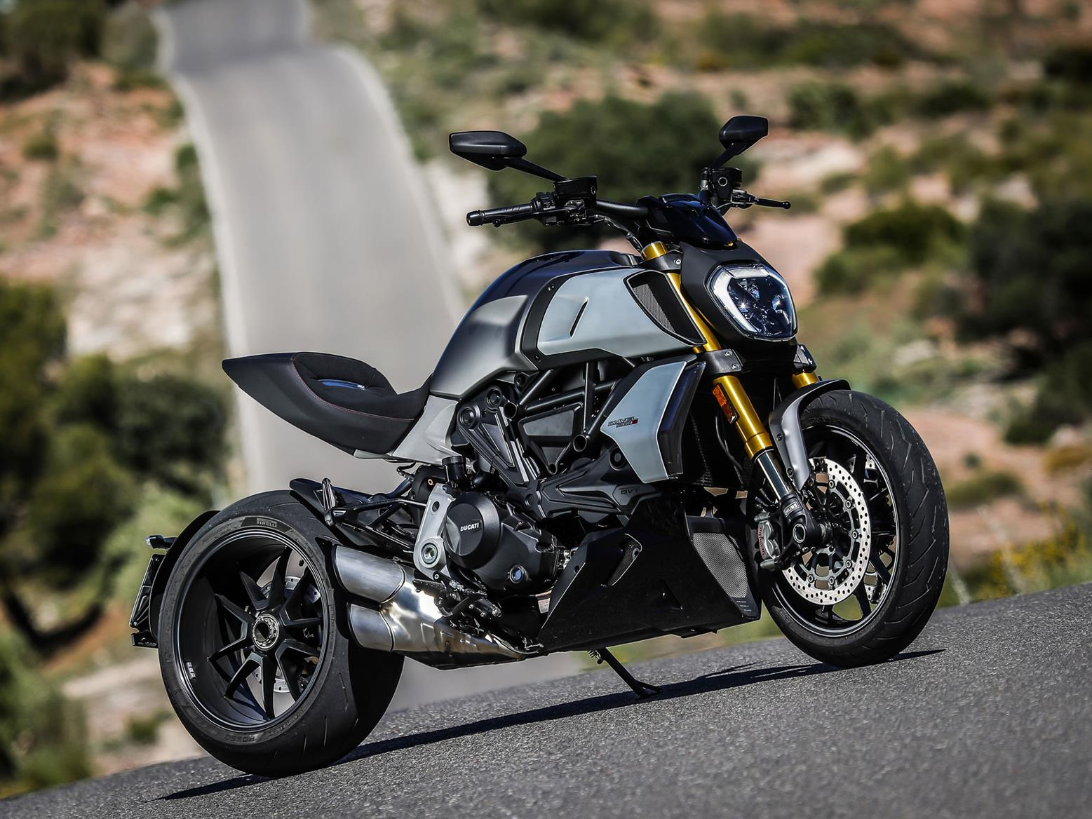 The Ducati Diavel is a beautifully built machine