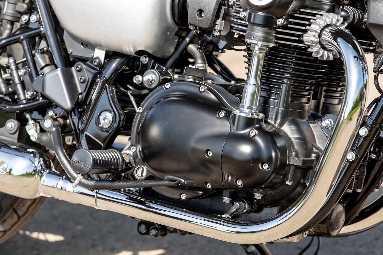 Kawasaki W800 engine
