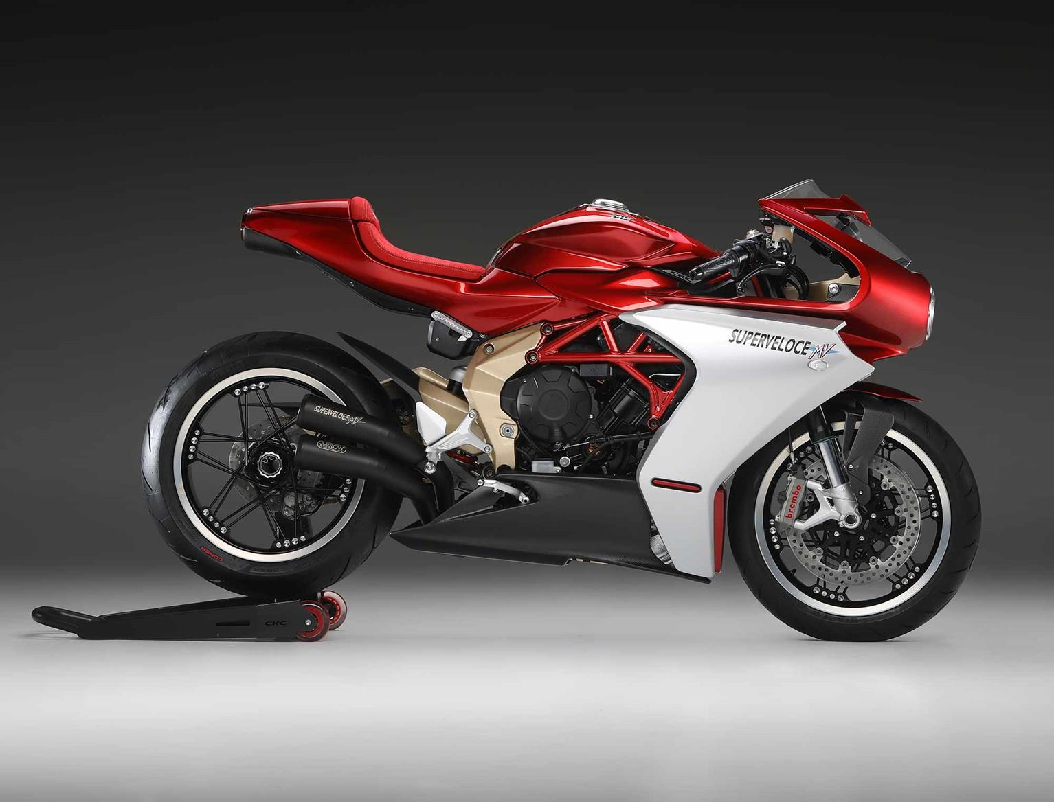 MV Agusta Superveloce 800 Serie Oro side-on