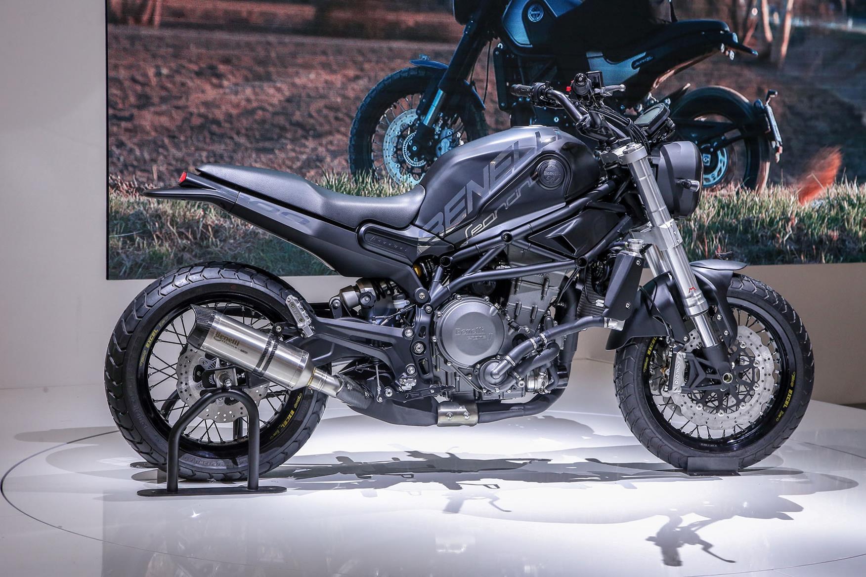 Benelli Leoncino 800 concept revealed at Eicma 2018