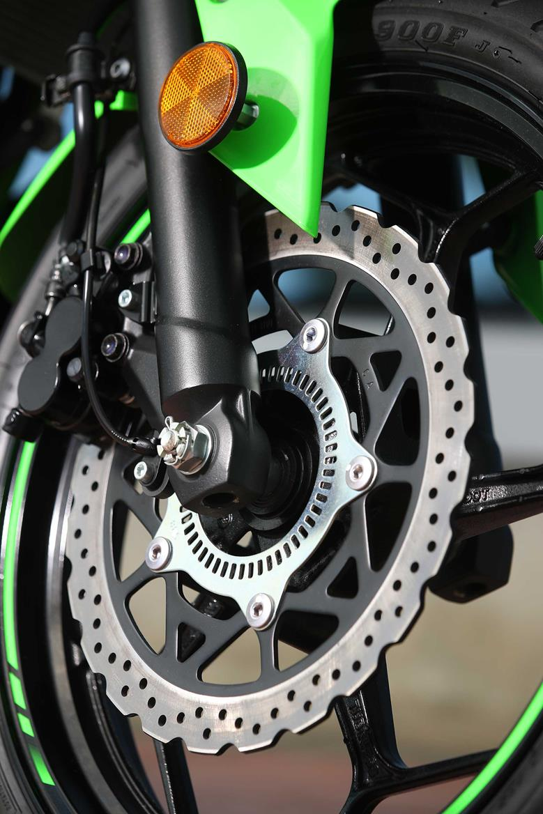 The Kawasaki Ninja 125 petal disc