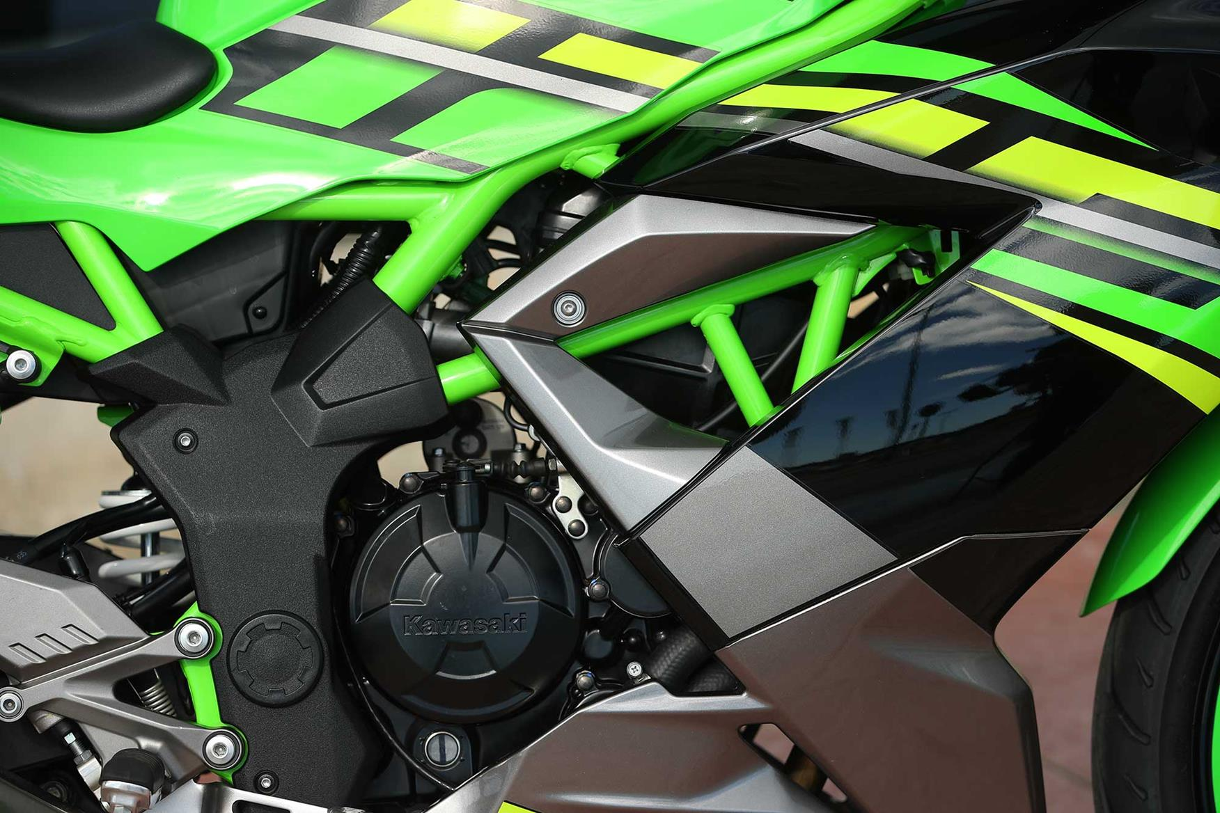 The Kawasaki Ninja 125 engine