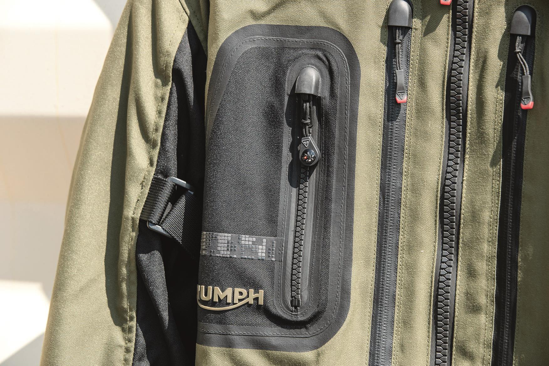 Triumph Brecon jacket pocket