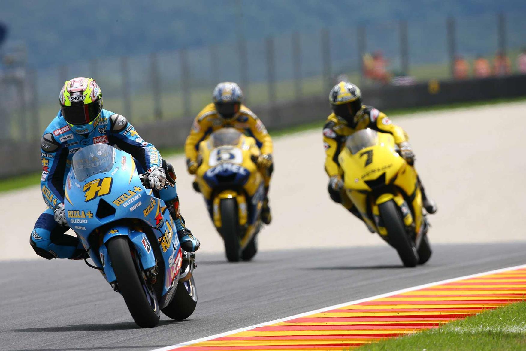 Chris Vermeulen took his sole MotoGP victory with Suzuki in 2007