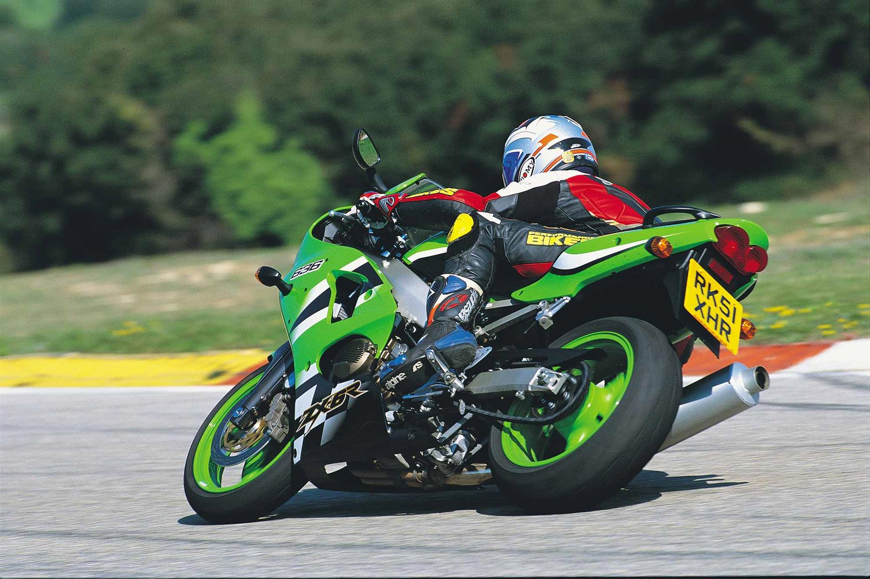 The 2002 Kawasaki ZX-6R