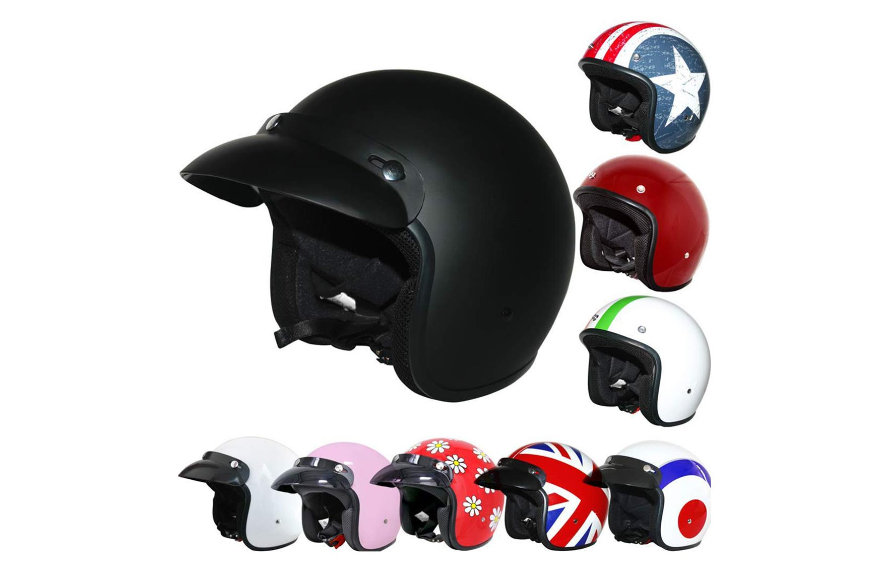 These Leopard helmets retail for around £23.95 (including delivery)