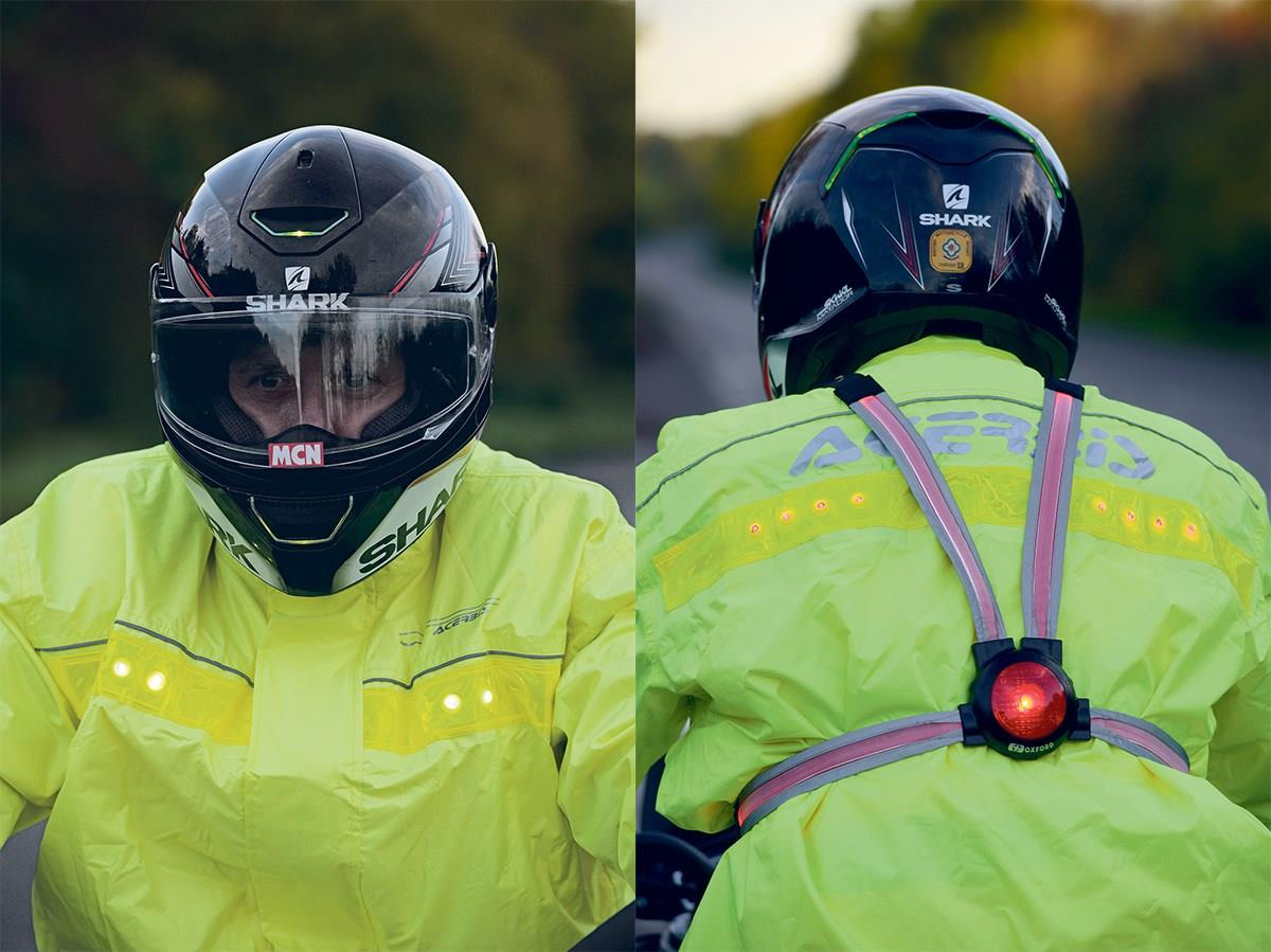 Some riders recommend plenty of high-vis