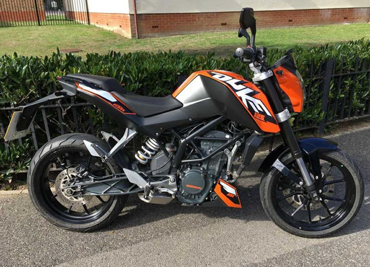 KTM 125 Duke for sale