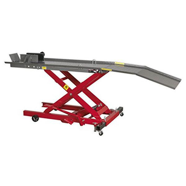 Sealey MC365 hydraulic motorcycle lift