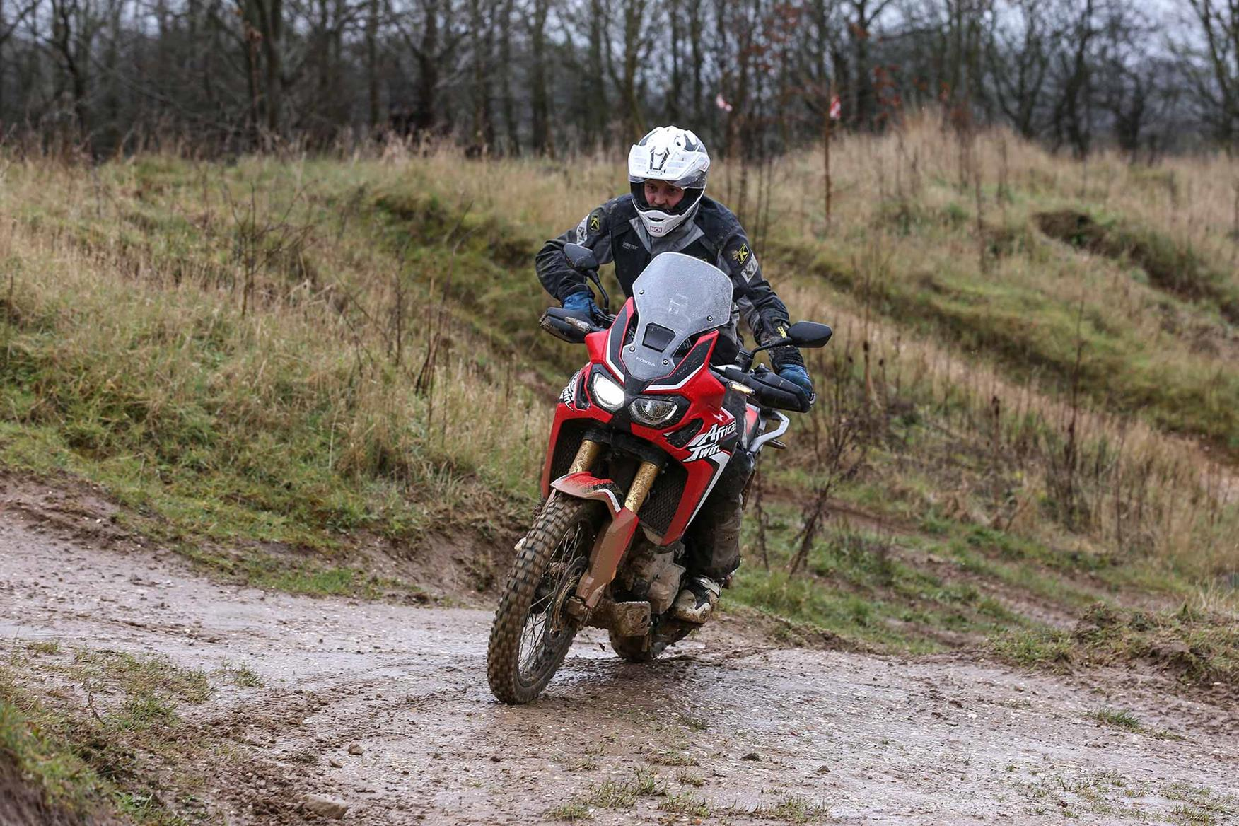 A 2016 CRF1000L DCT Africa Twin in action