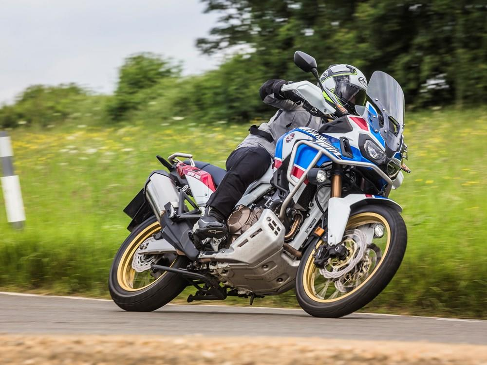 MCN rides the 2018-on Africa Twin Adventure Sports