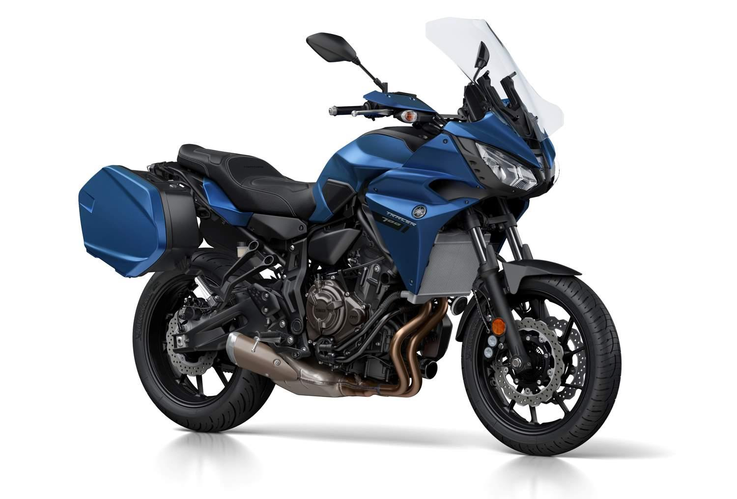 Win a Yamaha Tracer 700GT with MCN and Yamaha