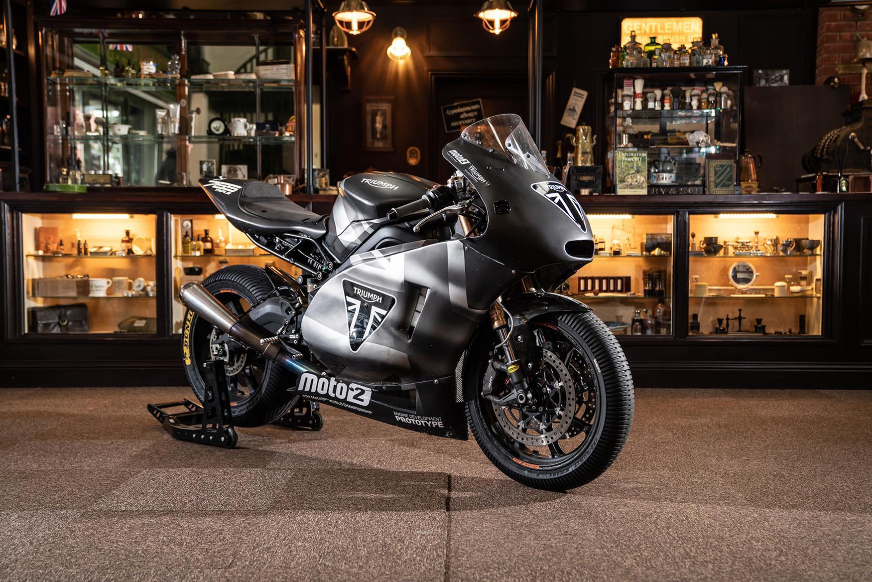 Triumph Moto2 prototype