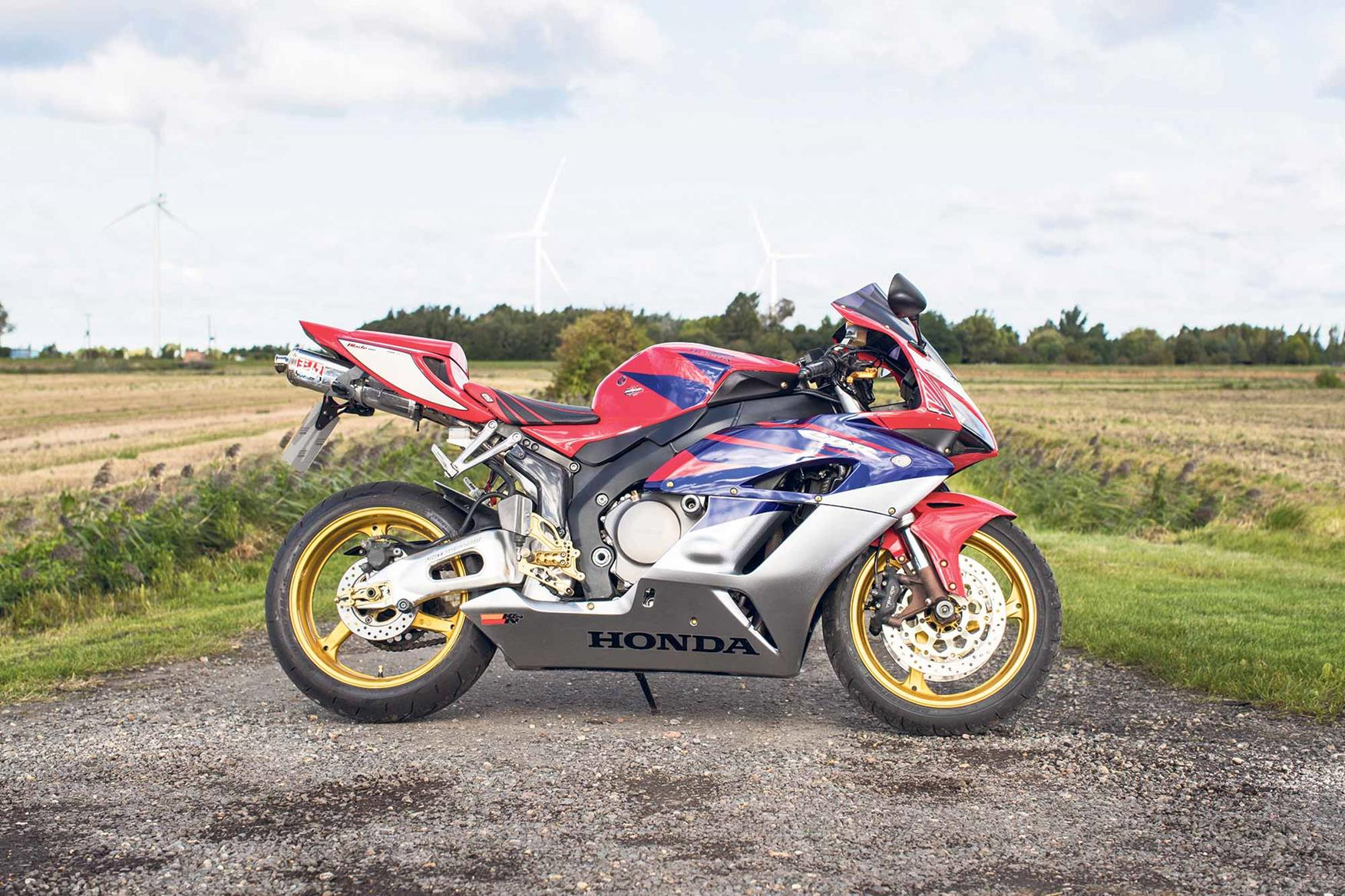 The 2004 Honda CBR1000RR Fireblade