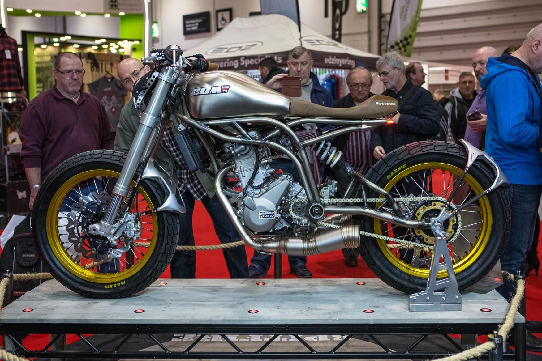 The CCM Spitfire at Motorcycle Live 2017