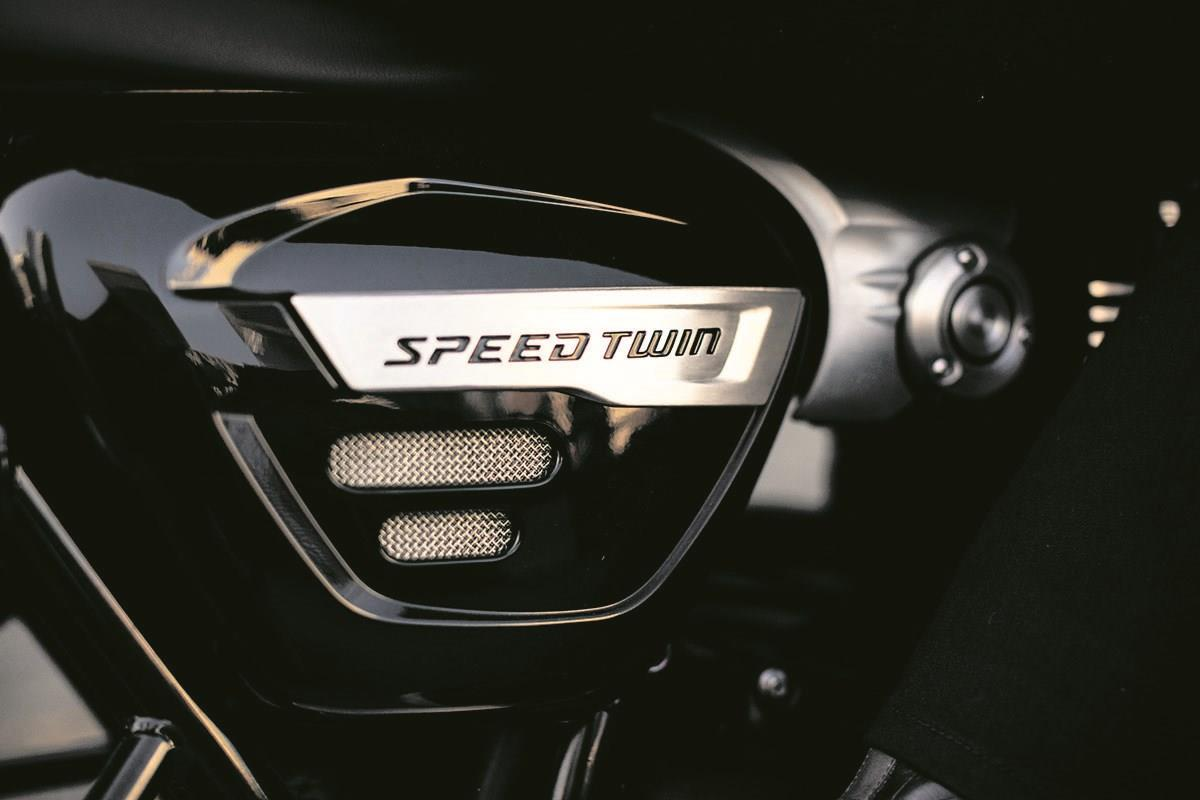 The Speed Twin boasts a number of neat touches